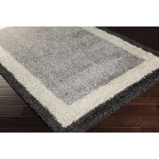 Meticulously Woven Cay Abstract Shag Rug (2' x 3')