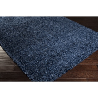 Meticulously Woven Carlene Solid Shag Rug (2' x 3')