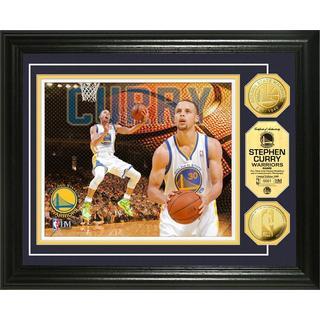 NBA Stephan Curry Gold Coin Photo Mint