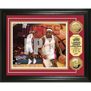 NBA LeBron James Gold Coin Photo Mint