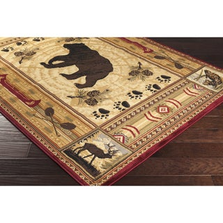Artfully Crafted Prater Polyester Rug (7'10 x 10'3)
