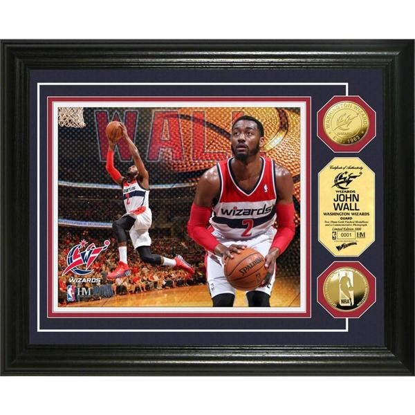 NBA John Wall Gold Coin Photo Mint