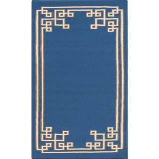 Beth Lacefield Hand-woven Omar Reversible Wool Rug (5' x 8')