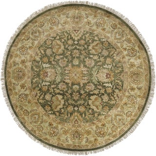 Hand-Knotted Fogerty New Zealand Wool Rug (8' Round)
