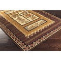Artfully Crafted Valli Polyester Rug (2'6 x 9')