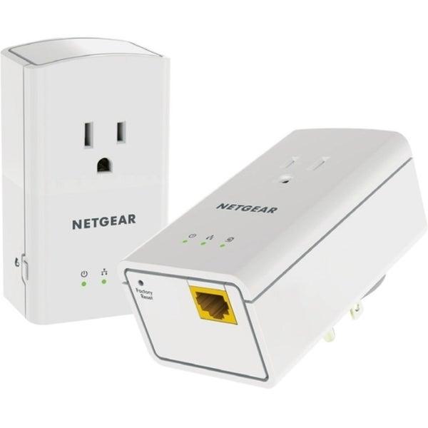 Netgear Powerline 500 1 Port, Extra Outlet