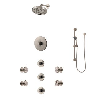 Pfister Multi-directional Raincan Shower Head Set