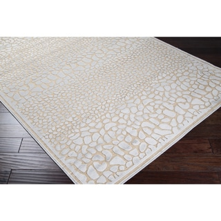 Artfully Crafted Julie Viscose Rug (5'2 x 7'6)