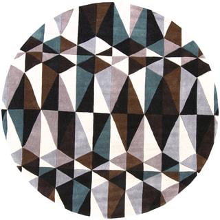 Hand-tufted Essie Polyester Rug (8' Round)