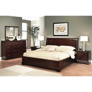 Abbyson Living Beverley 5-piece Espresso Bedroom Set