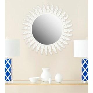 Safavieh Inca Sunburst White Mirror