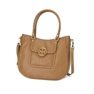 Tory Burch Amanda Royal Tan Classic Hobo