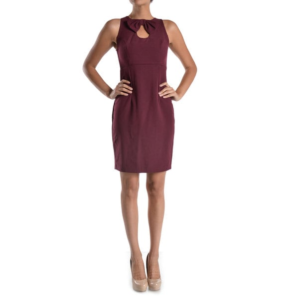 Mystic Women's Keyhole Neckline Sleeveless Dress