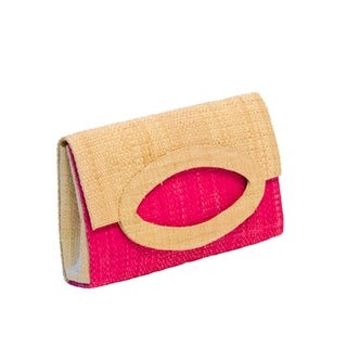 Dalia Handmade Eco-friendly Raffia Clutch (Cameroon)