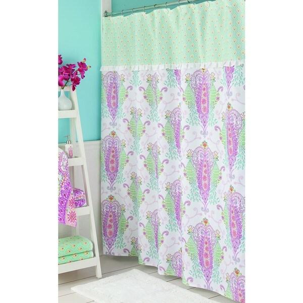 Lenox Shower Curtain Butterfly Meadow