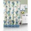 Lenox Blue Floral Shower Curtain