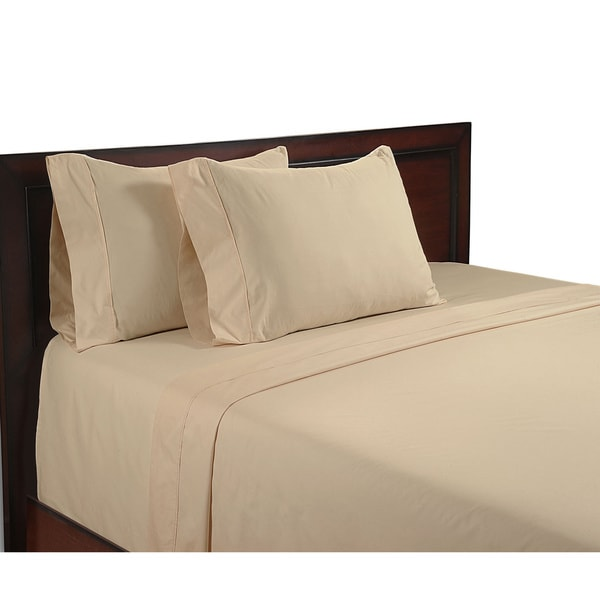 Color Sense Egyptian Cool Touch Cotton 400 Thread Count Sheet Set