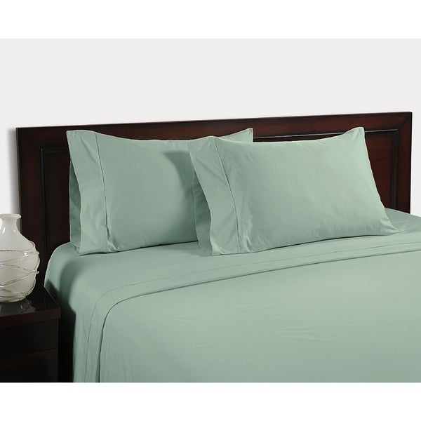 Color Sense Egyptian Cotton Velvet Touch 400 Thread Count Sheet Set