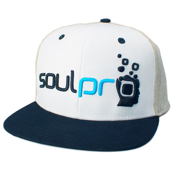 Soulpro 'Grey Hair' Snapback Hat