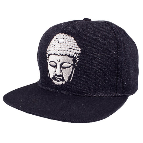 Soulpro Buddha Crown Denim Snapback