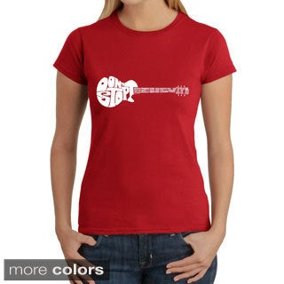 LA Pop Art Women's Don't Stop Believin' T-shirt