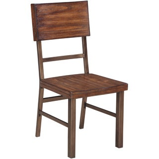 Signature Design by Ashley Riggerton Burnished Brown Side Chair (Set of 4)