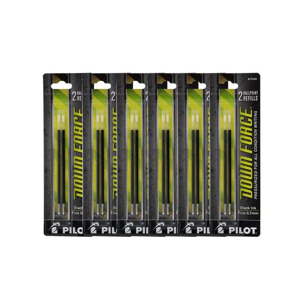 Pilot Down Force Ballpoint Pen Refills