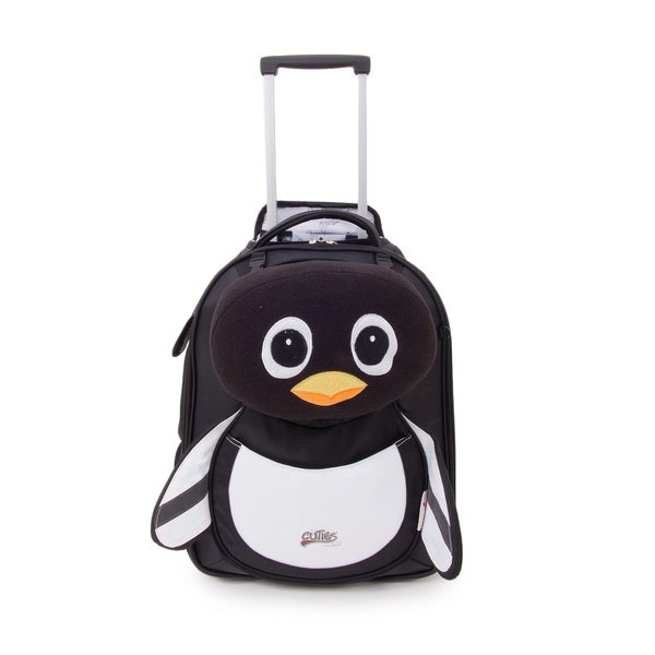 Cuties & Pals 'Peko Penguin' Soft Rolling Upright Trolly