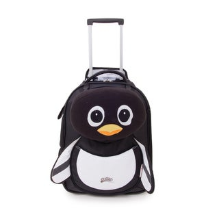 Cuties & Pals 'Peko Penguin' Soft Rolling Upright Backpack
