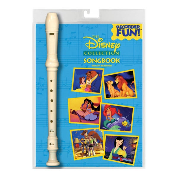 The Disney Collection Songbook With Easy Instructions: Recorder Fun!