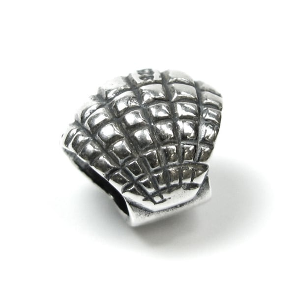 Queenberry Sterling Silver Sea Shell European Bead Charm 14337302