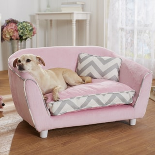 "Enchanted Home Pet 32"" Emilie's Nook Furniture Pet Bed"
