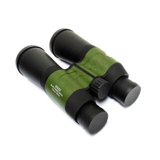 30x50 Perrini Black/ Green High Quality Binoculars