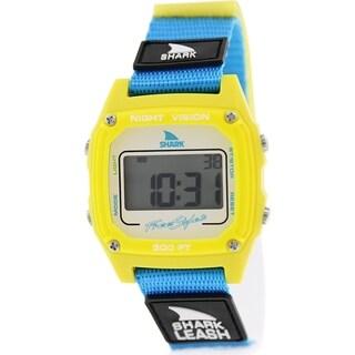 Freestyle Men's Shark Leash 102242 Blue Nylon Quartz Watch with Digital Dial