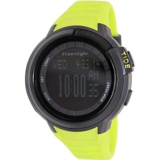 Freestyle Men's Mariner 103184 Green Silicone Quartz Watch with Digital Dial