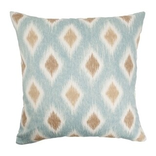 Faela Diamond Aquadisiac Down Fill Throw Pillow