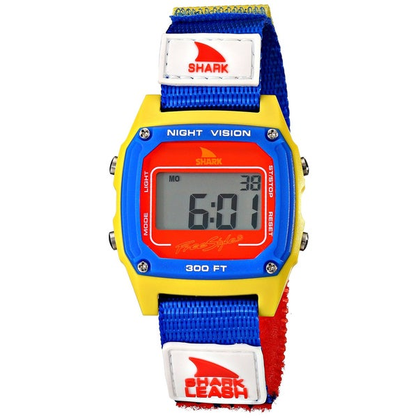 Freestyle Men's Shark Leash 102243 Multicolor Nylon Quartz Watch with Digital Dial