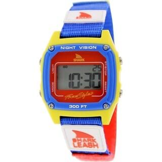 Freestyle Men's Shark Leash 102243 Multicolor Nylon Quartz Watch with Digital Dial