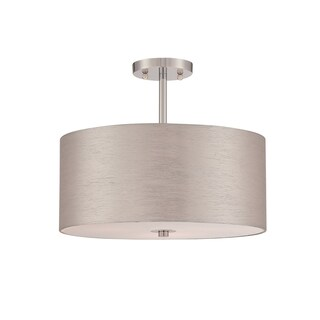 Katy 3-light Semi-Flush