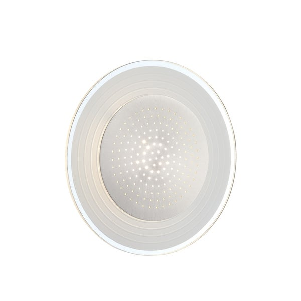 Lite Source Flynn 1-light Round Wall Sconce