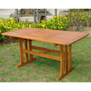 International Caravan Acacia 59-inch by 32-inch Rectangular Dining Table