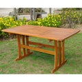 International Caravan Acacia 59-inch by 32-inch Rectangular Dining Table