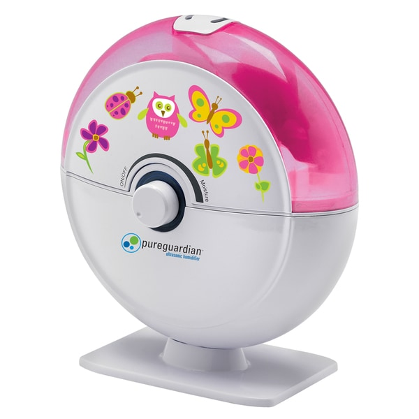 PureGuardian H1010P Tabletop Mist Ultrasonic Humidifier with Decals 14338188