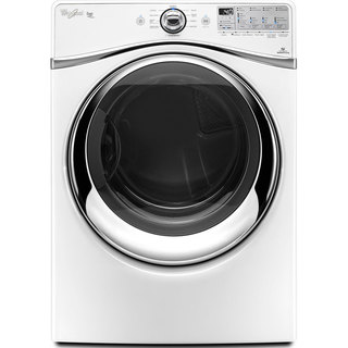 Whirlpool White Front Load Gas Dryer