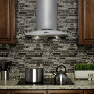 Golden Vantage OSWRH703S-30-GV Stainless Steel Wall Mount Range Hood