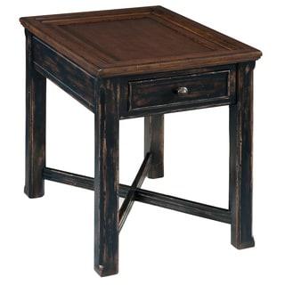 Magnussen Clanton Wood Rectangular End Table