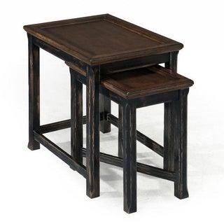 Magnussen Clanton Wood Bunching End Table