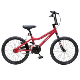 Piranha Boomerang Boys 20-inch Red Bike