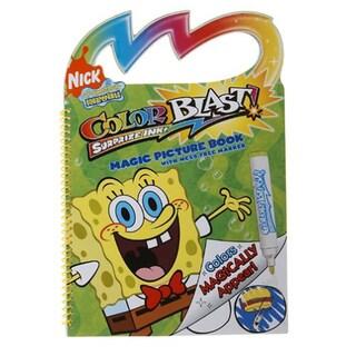 SpongeBob Color Blast Book