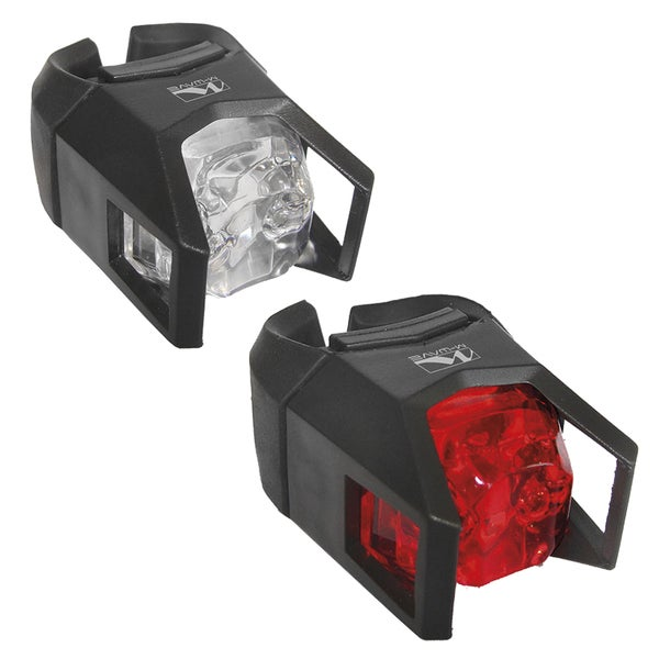 M-Wave Hunter Series Front and Rear Bicycle Lights